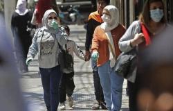 """1105 حالة جديدة .. إصابات """"كورونا"""" في لبنان ترتفع إلى 38363"""