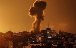 طائرات الاحتلال الإسرائيلي تقصف موقعاً في رفح جنوب غزة