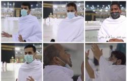 بالفيديو.. معتمرون يصفون مشاعرهم عند رؤية المسجد الحرام.. شوق أذرف الدموع