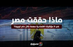 ماذا حققت مصر في 6 مؤشرات اقتصادية مهمة خلال عام كورونا؟