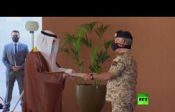 ملك الأردن عبد الله الثاني يستقبل وزير خارجية الكويت