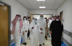 أمير عسير يفتتح 100 سرير عناية مركزة لمرضى كورونا بجامعة الملك خالد