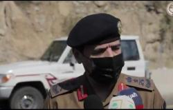 """فيديو .. """"العمرو"""" ينقل تحيات وزير الداخلية للمشاركين في إخماد حريق تنومة"""