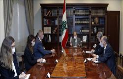 عون: نتطلع إلى اتفاق يحمي حقوق لبنان في مفاوضاته مع إسرائيل