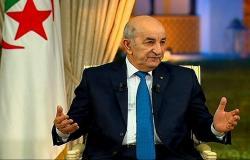 الرئيس الجزائري يُطمئن مواطنيه حول وضعه الصحي