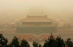"""""""غبار أصفر"""" قادم من الصين يرعب كوريا الشمالية: لا تخرجوا من منازلكم"""