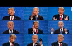 أبرز لحظات التراشق بين ترامب وبايدن في آخر مناظرة