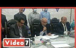 اللجنة العامة بالدائرة الأولى فى مطروح تعلن تقدم القائمة الوطنية بـ48 ألف صوت