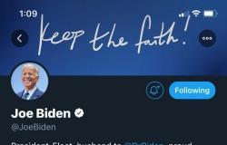 """""""الرئيس المنتخب"""".. بايدن وهاريس يغيران تعريفهما على """"تويتر"""""""