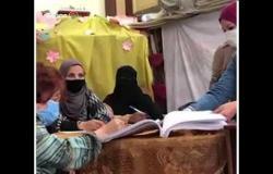 استمرار توافد الناخبين للتصويت في انتخابات مجلس النواب بمصر الجديدة