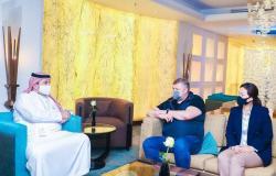 في زيارة لمدة 3 أيام .. وفد لجنة تقييم ملف استضافة دورة الألعاب الآسيوية 2030 يزور الرياض