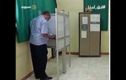 توافد الناخبين على لجنة التوفيقية بشبرا مصر في ثاني أيام انتخابات مجلس النواب