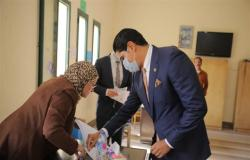 أحمد أبو هشيمة: المشاركة الكبيرة في انتخابات النواب دليل على استقرار مصر (صور)
