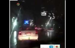 أمطار متوسطة على محافظة الجيزة