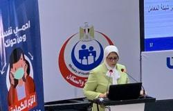 موقف المدارس وتخفيف العمالة.. وزيرة الصحة تكشف تفاصيل الوضع الوبائي لكورونا بمصر