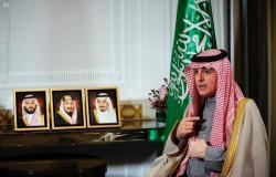 """""""الجبير"""" يستعرض جهود السعودية في مكافحة الإرهاب على التلفزيون الدنماركي"""