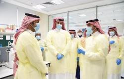 """""""الحقيل"""" يطّلع على مشروعات أمانة الرياض وبرامجها التطويرية"""