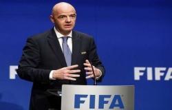 رئيس الفيفا يؤكد .. مشاركة 22 منتخبًا في كأس العرب 2021