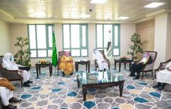 رئيس جامعة شقراء يلتقي أعضاء جمعية التنمية والتطوير بالمحافظة