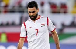 الاتحاد السوري لكرة القدم: إيقاف (خربين) عن المشاركات الدولية مدى الحياة