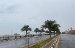 الشرقية.. هطول أمطار متوسطة إلى خفيفة تعم محافظات المنطقة