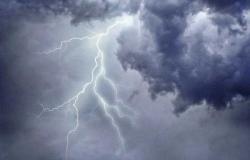 الأرصاد: سحب رعدية ورياح نشطة على نجران