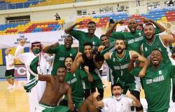 بنتيجة 73 .. الأخضر السعودي لكرة السلة يسقط القطري