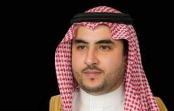 """""""خالد بن سلمان"""" يؤكد لـ""""غريفثس"""" حرص السعودية على حل سياسي شامل باليمن"""