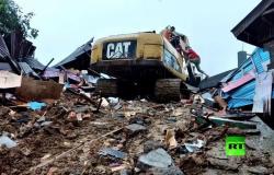 """إندونيسيا.. مصرع 42 شخصاً وإصابة المئات في هزة أرضية بـ """"سولاوسي"""""""