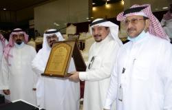 """الاتحاد السعودي لرياضة الصم يكرم """"الباحص"""" لجهوده برئاسة نادي الشرقية"""