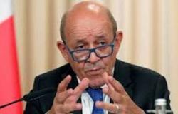 """""""لودريان"""" يحذر: إيران تبني قدرات إنتاج أسلحة نووية"""