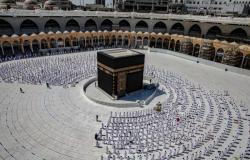 رئاسة الحرمين: المسجد الحرام استقبل 6.7 مليون معتمر ومُصلٍّ بعد جائحة كورونا