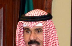 أمير الكويت يقبل استقالة رئيس الحكومة والوزراء