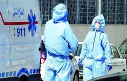 تسجيل 957 اصابة جديدة بفيروس كورونا و 8 وفيات في الاردن