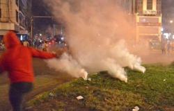 لبنان.. عشرات المصابين بينهم 9 من عناصر الشرطة في مواجهات بطرابلس