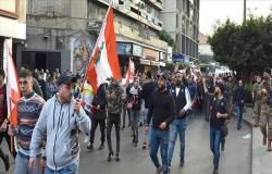 احتجاجات لليوم الرابع في لبنان رفضا لإغلاق كورونا وأوضاع معيشية .. بالفيديو