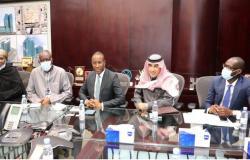 وزير الاقتصاد والتخطيط السنغالي يزور مجموعة سليمان الحبيب الطبية