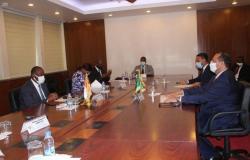 وزير خارجية كوت ديفوار يبحث مع السفير السعودي القضايا ذات الاهتمام المشترك