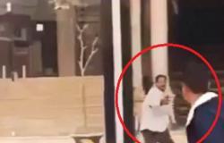 تحرشوا بزوجته.. شاهد مصرياً يطلق النار على المارة بالشارع