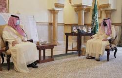 استمع لنبذة عن المكتسبات.. بدر بن سلطان يستقبل مجلس إدارة الوحدة
