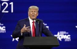 ترامب يعلّق على ترشحه في 2024 وينتقد بايدن: الشهر الأول من إدارته فاشل وكارثي