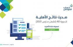 """""""حساب المواطن"""": صدور نتائج الأهلية للدورة 40"""