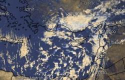 سحب متوسطة ومنخفضة.. الأرصاد تعلن أماكن سقوط الأمطار (صور من الأقمار الصناعية)