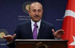 """""""أوغلو"""": تركيا ومصر قد تتفاوضان على ترسيم الحدود البحرية بينهما"""