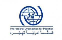 المنظمة الدولية للهجرة تواصل أعمال تحسين الشبكة الكهربائية في مخيم جفينة بمأرب