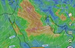 """""""التميمي"""": موجة غبار واسعة تؤثر في مناطق السعودية.. الجمعةالمقبلة"""