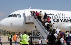 بعد انقطاع 7 سنوات.. استئناف الرحلات الجوية بين بنغازي ومصراتة
