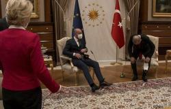 شاهد خطأ أردوغان بحق رئيسة المفوضية.. فيديو اللحظة التي أغضبت أوروبا