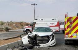 مصرع شخص وإصابة 7 آخرين في حادث تصادم على طريق الجعرانة بمكة