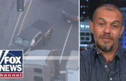 بالفيديو.. شاهد ما فعله سائق مصري وأبهر الأميركيين